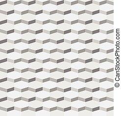 seamless, abstratos, fundo, hexágono, padrão geométrico