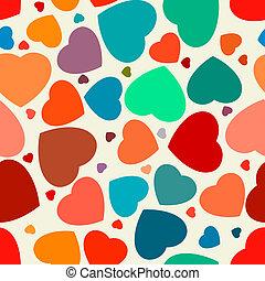 seamless, corações, experiência., eps, 8