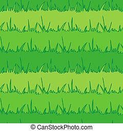 seamless, experiência., grass., vetorial, verde, vegetação