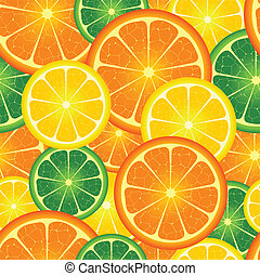 seamless, fundo, laranja