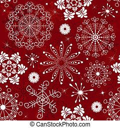 seamless, padrão, abstratos, vermelho