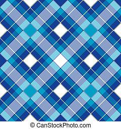 seamless, padrão, azul