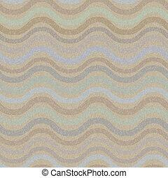 seamless, padrão, retro, onda