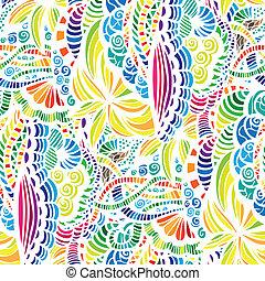 seamless, vetorial, padrão, mosaico