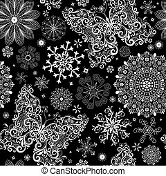 seamless, vindima, natal, padrão