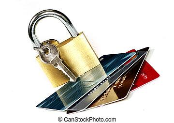 segurança, cartão