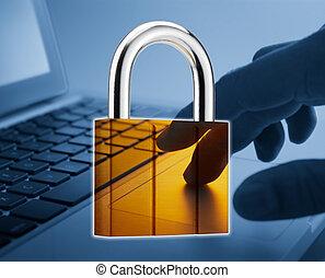 segurança, internet