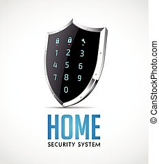 segurança lar, sistema