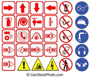 segurança, sinais