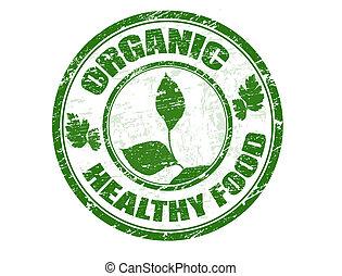 selo alimento, orgânica, saudável