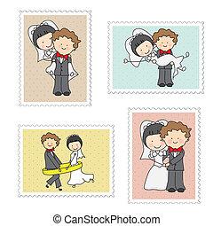 selos, casório