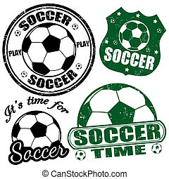 selos, futebol, jogo