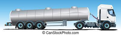 semi-reboque, caminhão petroleiro
