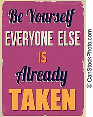 ser, já, cartaz, else, everyone, levado, você mesmo