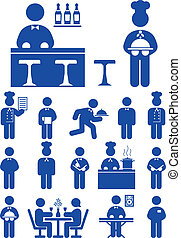 serviço alimento, ícone