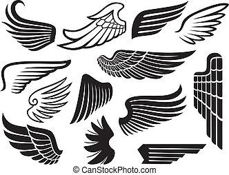 (set, asas, cobrança, wings)