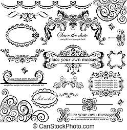 set., casório, design.