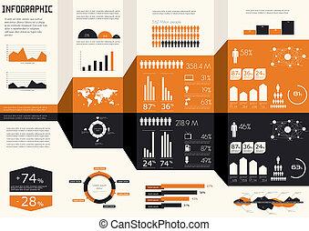 set., infographics, detalhe
