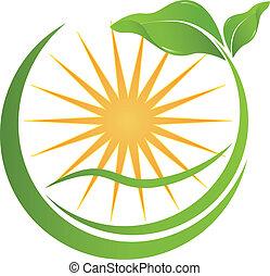 seu, saúde, logotipo, natureza, companhia
