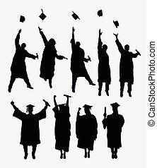silhuetas, graduação
