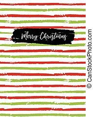 sketchbook, cartão, cobertura, saudação, feliz natal