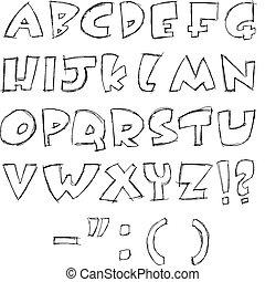 sketchy, letras