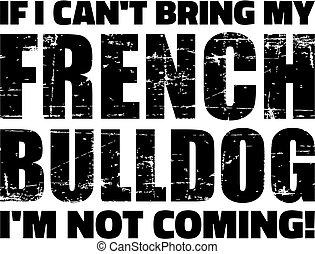 slogan, buldogue francês