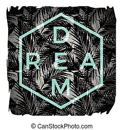 slogan, ilustração, vetorial, camisetas