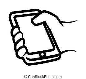 smartphone, desenho