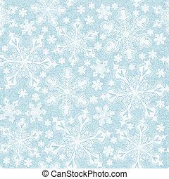 snowflakes., 10, eps, seamless, padrão