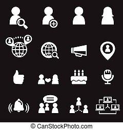 social, ícone