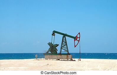 solo, cubano, petróleo, extração