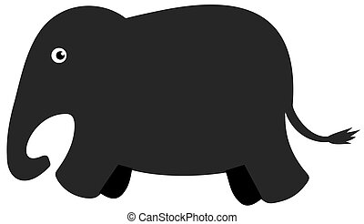 sombra, elefante
