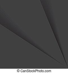 sombras, gráfico, folhas, &, este, graphic., ou, -, vetorial, plástico, cinzento, papel, pretas, tons, fundo, entre, consiste, branca, abstratos, fundo