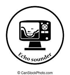sounder, ícone, eco