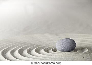 spa, zen, ou, fundo