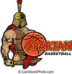 spartan, basquetebol, desenho