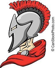 spartan, trojan, mascote