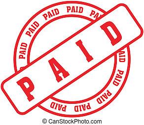 stamp1, palavra, pago
