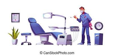 stomatology, clínica, odontólogo, dental, doutor, crianças
