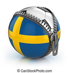 suécia, futebol, nação