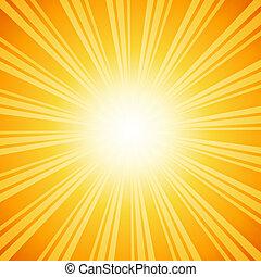 sunburst, fundo