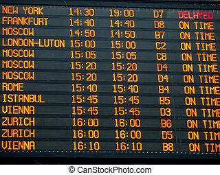 tábua, aeroporto, terminal internacional, informação, vôos