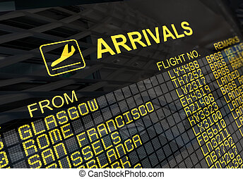 tábua, internacional, chegadas, aeroporto