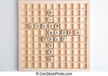 tábua, relatando, jogo, diabetes, palavras
