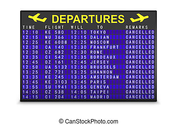 tábua, vôos, cancelado