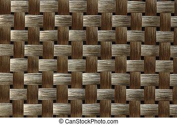 têxtil, carbono, fibra, tecer