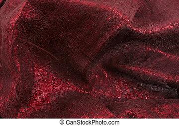 têxtil, fundo, golden-red