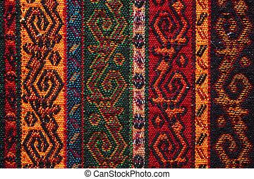 têxtil, indianas, coloridos