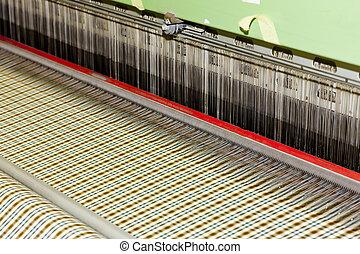 têxtil, máquina